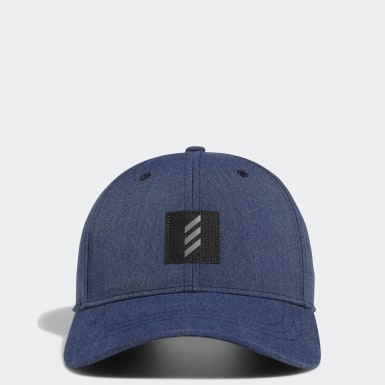 Men Golf Blue Adicross Low Twill Cap