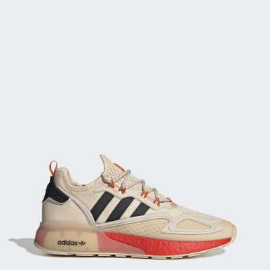 Men Originals Beige ZX 2K Boost Shoes