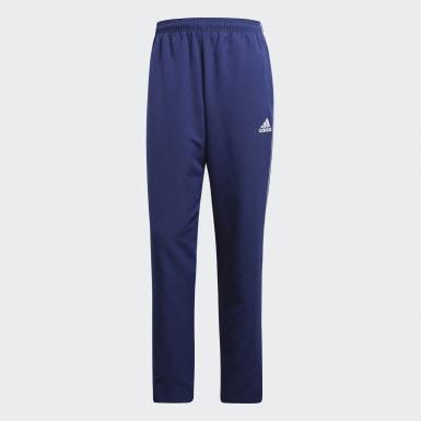 Calças de Apresentação Core 18 Azul Homem Futebol
