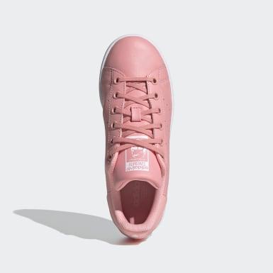 Dievčatá Originals ružová Tenisky Stan Smith