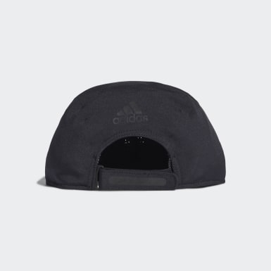 Gorra Perforated Runner Negro Tenis