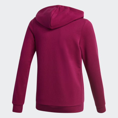 Hoodie Linear Viola Ragazza Athletics