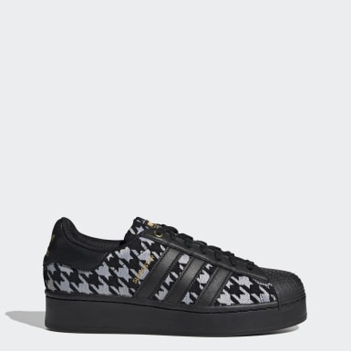 Dames Originals Zwart Superstar Bold Schoenen