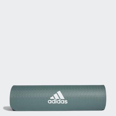 зеленый Коврик для йоги
