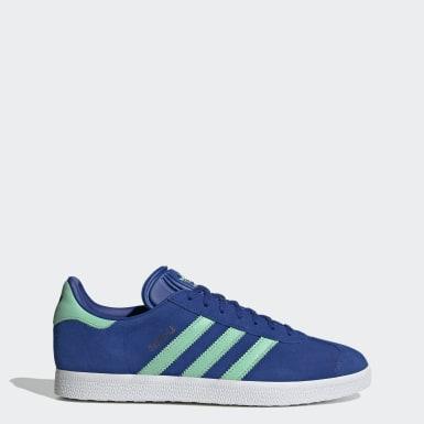 Dames Originals Blauw Gazelle Schoenen