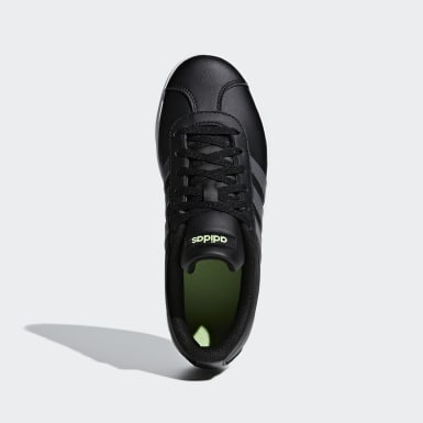 Children Sport Inspired Black VL Court 2.0 Shoes