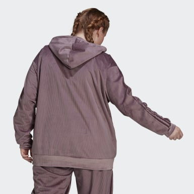 Women Originals Purple Hoodie (Plus Size)