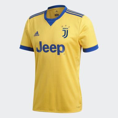 Jersey de Visitante Juventus Réplica Amarillo Hombre Fútbol