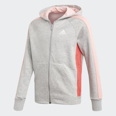 Felpa con cappuccio adidas Athletics Club Grigio Ragazza Athletics