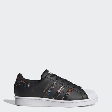 Women Originals Black Superstar Shoes