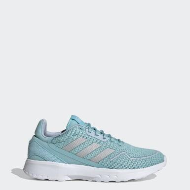 Women Sport Inspired Blue Nebzed Shoes
