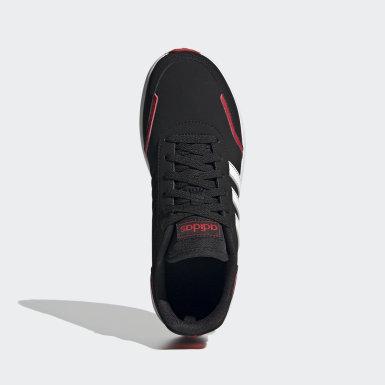 Çocuklar Sport Inspired Black VS Switch Ayakkabı