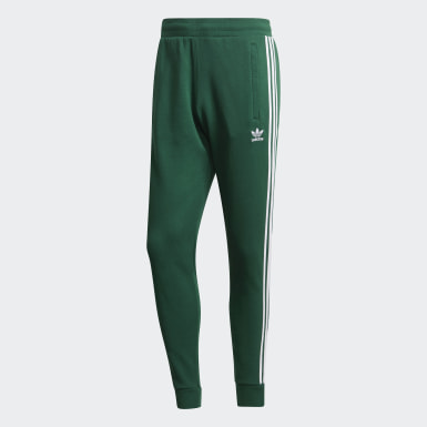 Pantalón 3 bandas Verde Hombre Originals