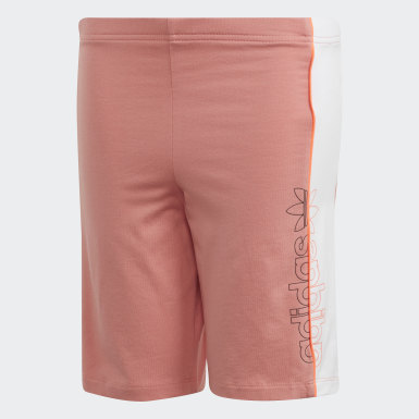 Boys Originals Pink Cycling Shorts