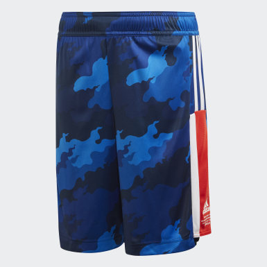 Boys Yoga Blue Bold AEROREADY Shorts