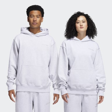 Originals Pharrell Williams Basics Hoodie – Genderneutral Grau