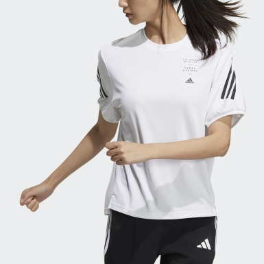 Women Athletics White Must Haves 3-Stripes Tee