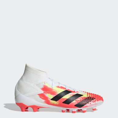 Football White Predator Mutator 20.1 Artificial Grass Boots
