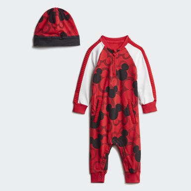Combinaison Disney Mickey Mouse rouge Bambins & Bebes Entraînement