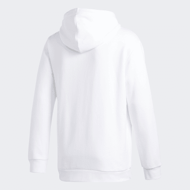 Sweat-shirt à capuche Trefoil Blanc Hommes Originals