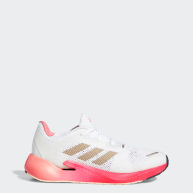 Women Running White Alphatorsion Shoes