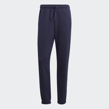 Pantalon Essentials Linear Tapered Bleu Hommes Athletics