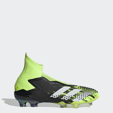 Football Green Predator Mutator 20+ Firm Ground Boots