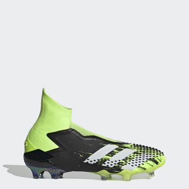 Football Green Predator Mutator 20+ Firm Ground Boots