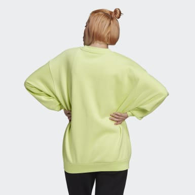 Sweat-shirt Oversize Jaune Femmes Originals