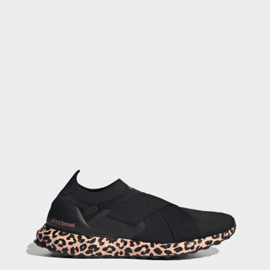 Sapatos Ultraboost Slip-On DNA Preto Mulher Running