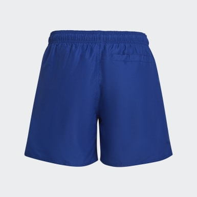Classic Badge of Sport Swim Shorts Niebieski