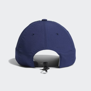 Women Golf Blue Performance Perforated Hat