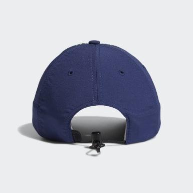 Frauen Golf Performance Perforated Kappe Blau