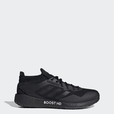 Men Running Black Pulseboost HD Shoes