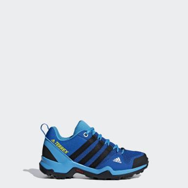 Kinder TERREX AX2R ClimaProof Schuh Blau