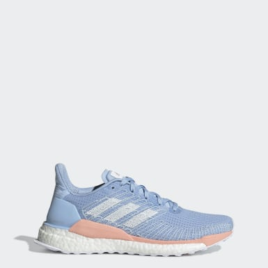 Tênis Solarboost 19 Azul Mulher Running