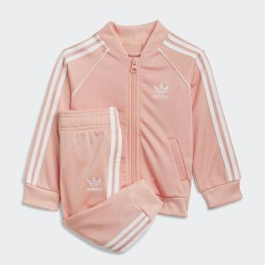 Kids Originals Pink Adicolor SST Tracksuit