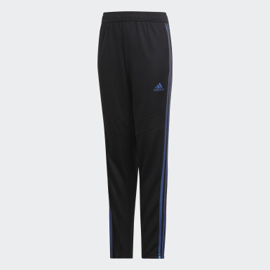 Boys Football Black Tiro 19 Training Pants