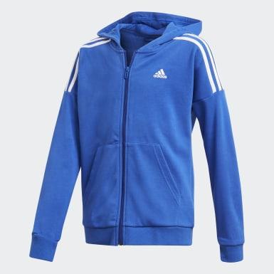 Jungen Training Trainingsanzug Blau