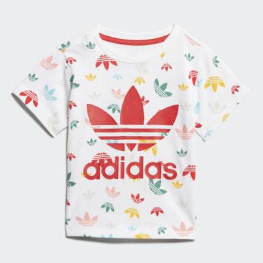 Conjunto Shorts y Camiseta Blanco Niño Originals