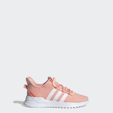 Sapatos U_Path Run Rosa Criança Originals