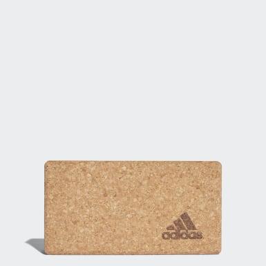 Блок для йоги Cork Yoga Block