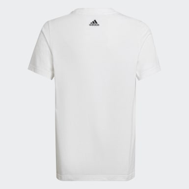 Camiseta Badge of Sport Blanco Niño Sport Inspired