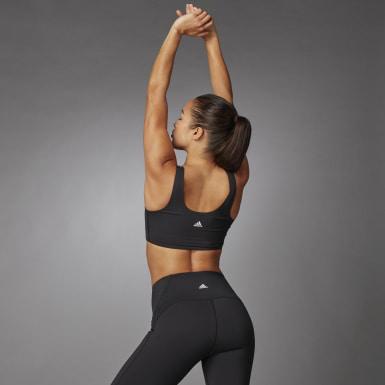 ผู้หญิง เทรนนิง สีดำ บรา Cozy Yoga
