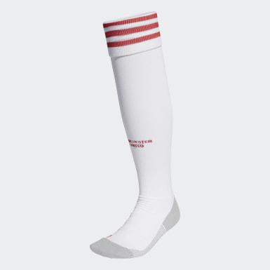 ฟุตบอล สีขาว ถุงเท้าชุดเหย้า Manchester United 20/21