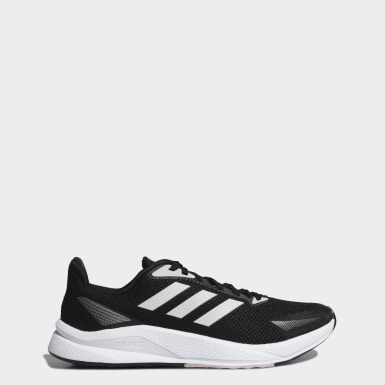 ผู้หญิง วิ่ง สีดำ รองเท้า X9000L1