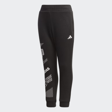 Pantalon Fleece Noir Garçons Training