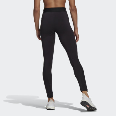 Women Athletics Black adidas Sportswear Cotton Leggings