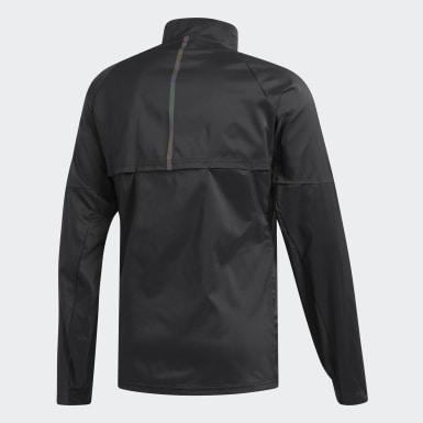 Chamarra Supernova Confident Three Seasons Negro Hombre Running