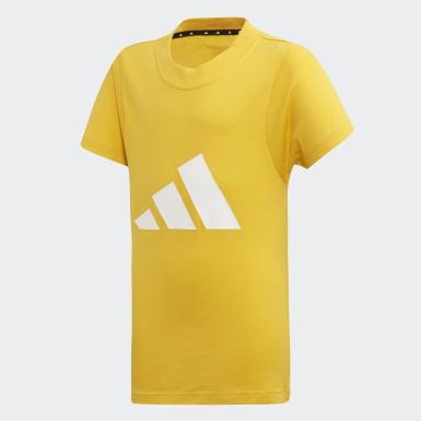 Camiseta The Pack Amarillo Niña Yoga